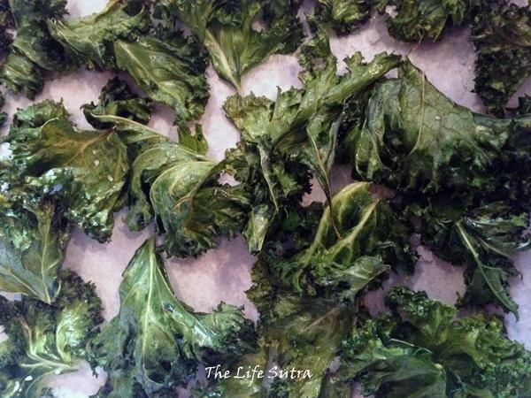 Kale-crisps
