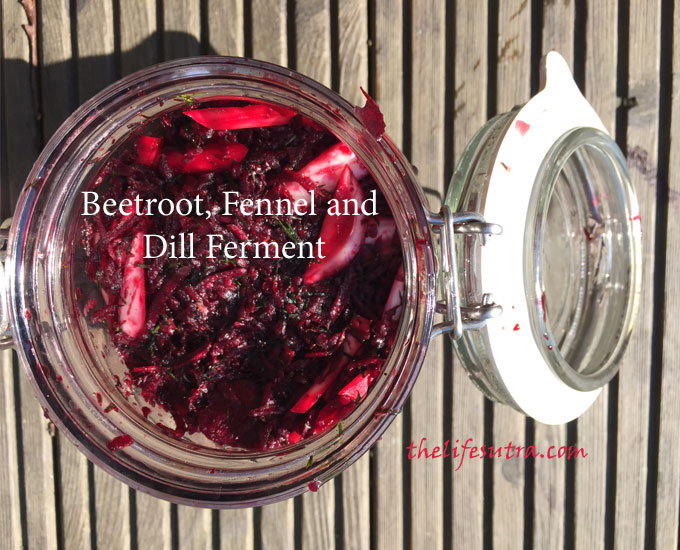 Beetroot-ferment